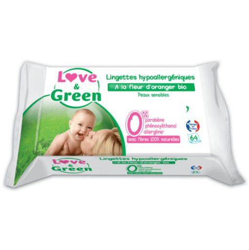 Lingettes Love & Green
