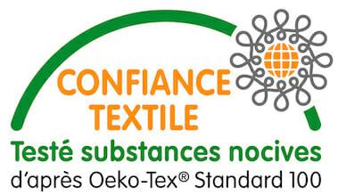 Oeko Tex 100 - Confiance Textile - Testé substances nocives