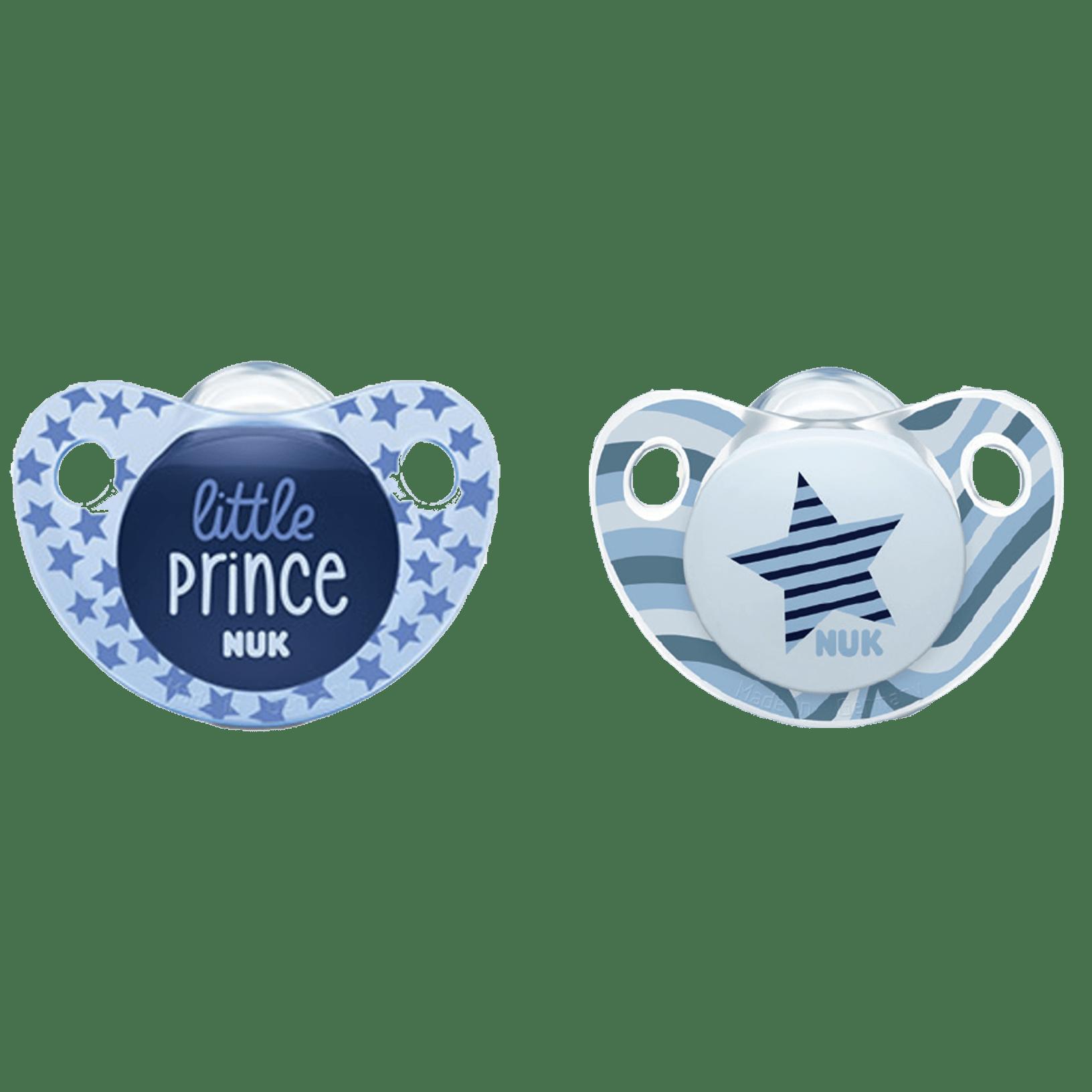 Sucettes Etoile et Little Prince NUK