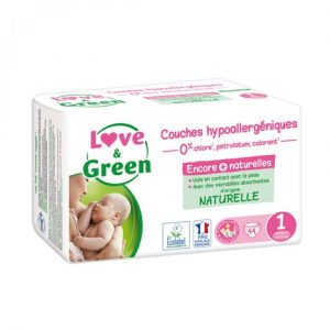 Couches Love & Green Taille 1
