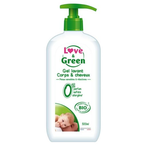 Gel Corps et Cheveux Love & Green