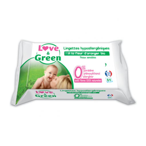 Lingettes Love & Green
