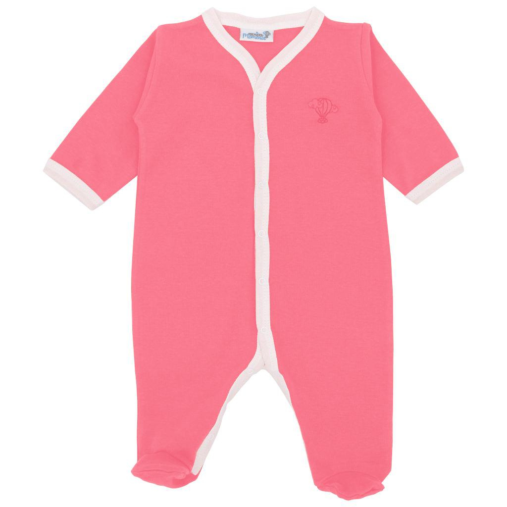 Pyjama leger Corail face