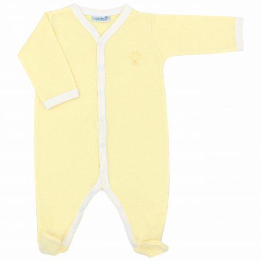Pyjama leger Mimosa bras tendu