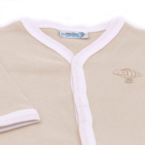 Pyjama leger Noisette detail