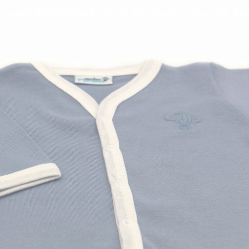 Pyjama leger Ocean bras detail