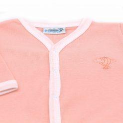 Pyjama leger Peche bras detail