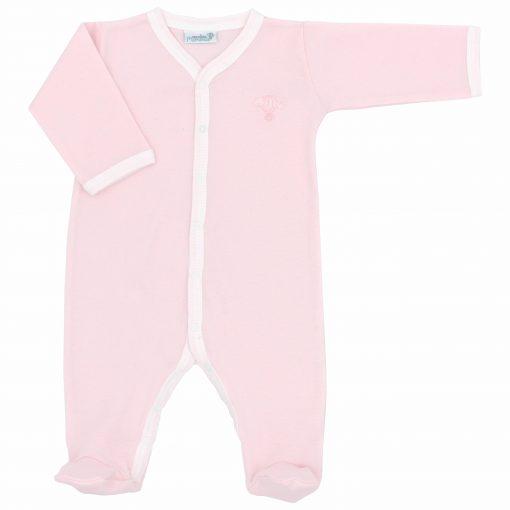Pyjama leger Pivoine bras tendu