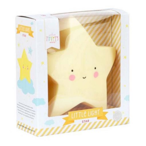 veilleuse étoile emballage
