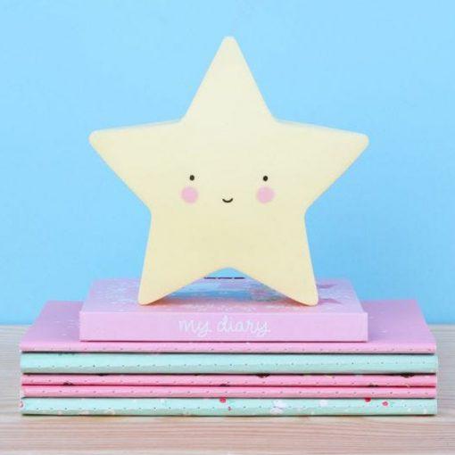 veilleuse étoile face