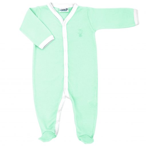 Pyjama léger Menthe bras plié