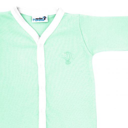 Pyjama léger Menthe détail 1