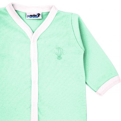 Pyjama léger Menthe détail 2