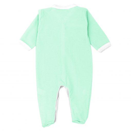 Pyjama léger Menthe dos fond blanc