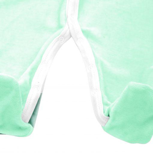 Pyjama velours Menthe détail 2