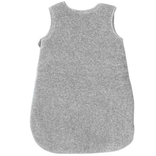 Gigoteuse Perle gris chiné en velours dos