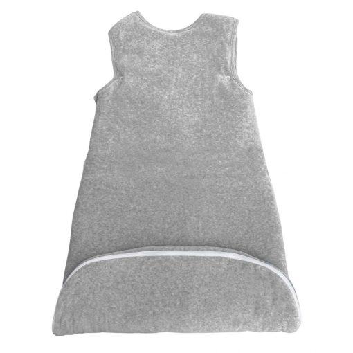 Gigoteuse velours évolutive perle gris chiné détail 1