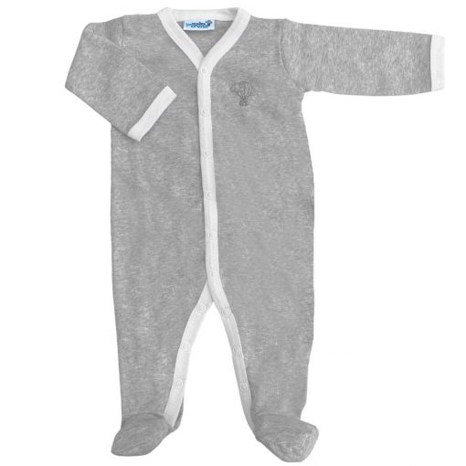 Pyjama jersey manches longues perle face