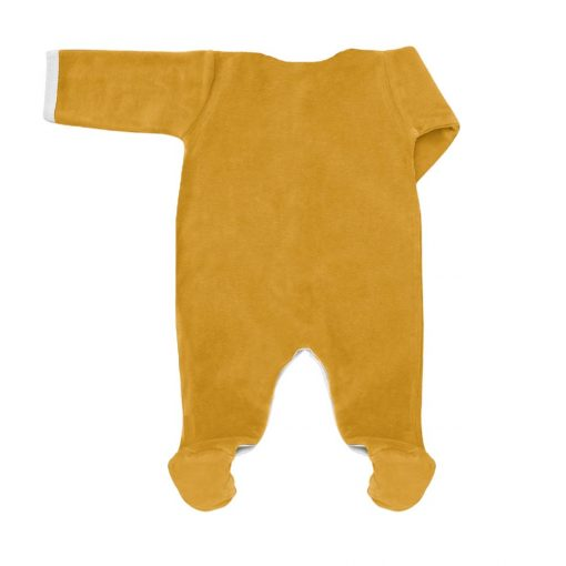 Pyjama miel velours dos 2